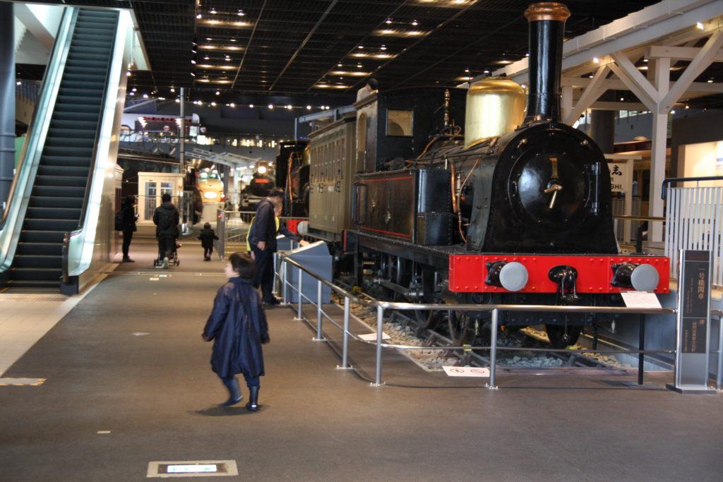 1号機関車(150形式蒸気機関車 車号150)
