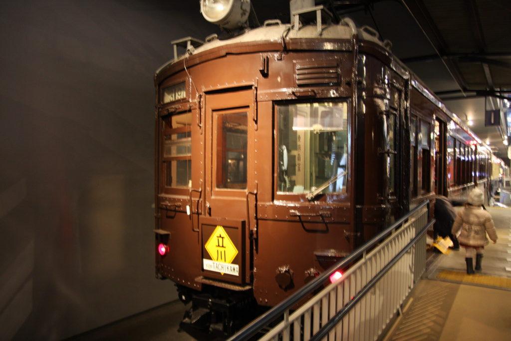 昭和11年の通勤電車