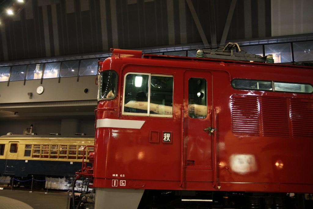 赤い機関車