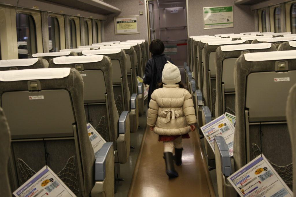 新幹線の客室