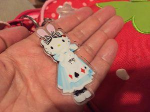 キティのキーホルダー